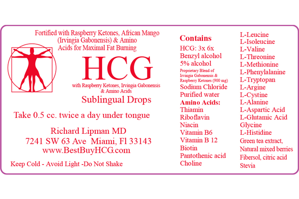 Superior HCG with Amino Acids, African Mango, & Raspberry Ketones – 30 Days Image 3