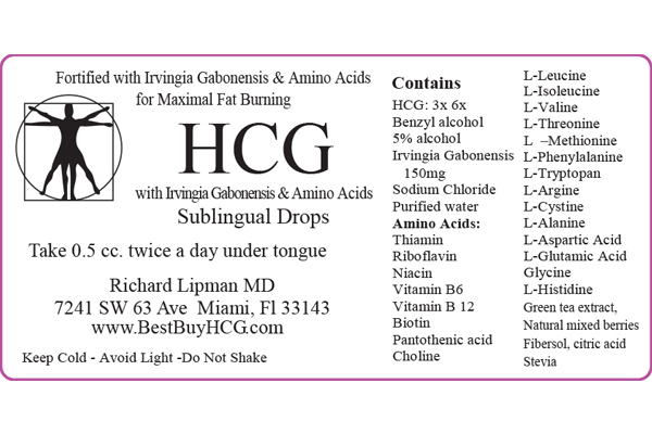Superior HCG with Amino Acids & African Mango – 60 Days Image 3